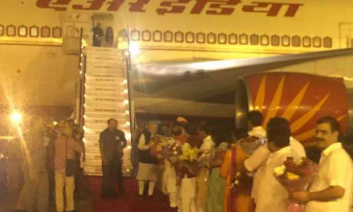 pm modi wraps up six nation tour returns home