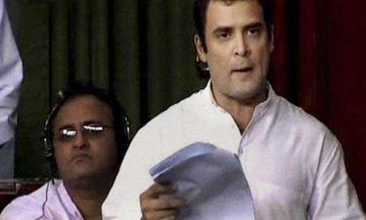 rahul accuses tdp govt of undoing shg movement