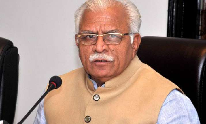 haryana cm khattar denies saying muslims have to stop