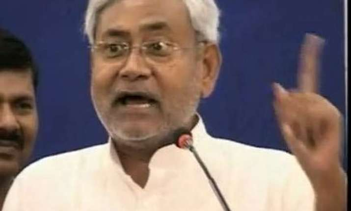 india is sitting on powder keg of corruption nitish