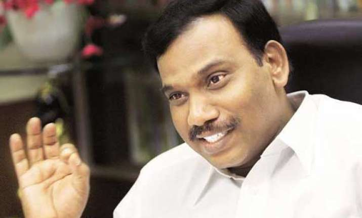 informed solicitor general about 2g applications a raja to