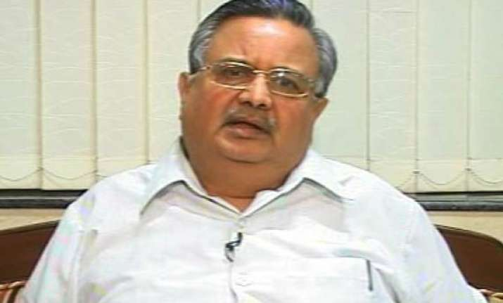 integrated action plan needed to check naxalism raman singh