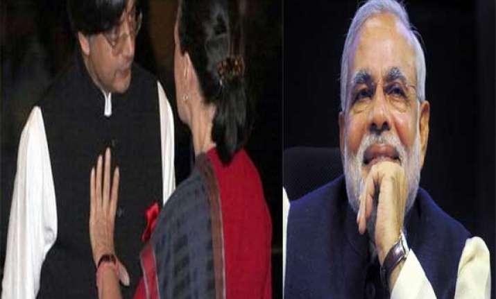 isolated within congress shashi tharoor explains his praise