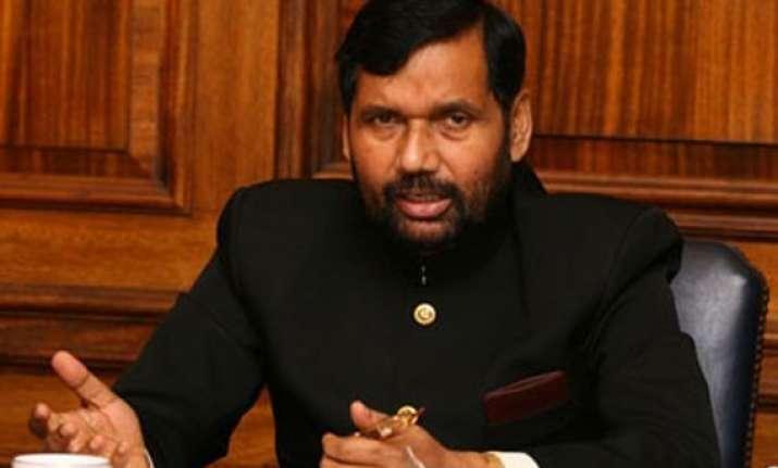 jd u bjp split will directly benefit us in ls polls paswan