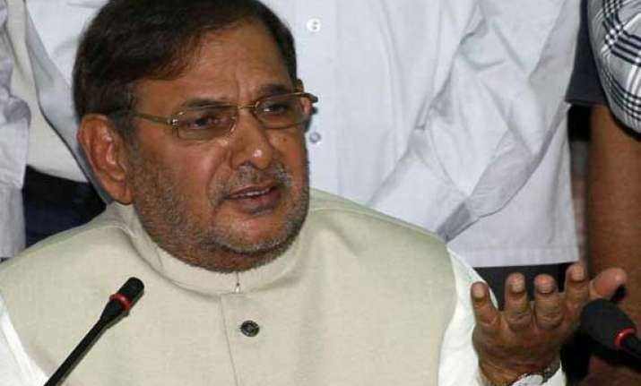 jd u flays bjp for protesting against ec