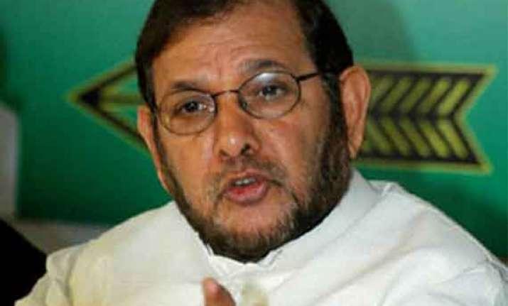 jd u will elect new leader sharad