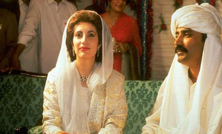 jab they met benazir bhutto and asif ali zardari