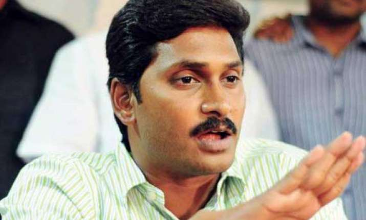 jagan detained while marching towards parliament