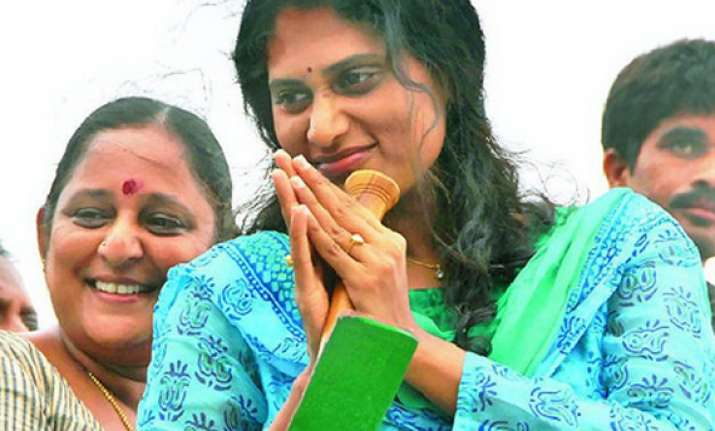 jagan s sister sharmila completes 2 500 km of her march