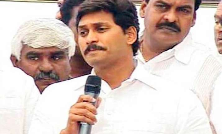 jagan his mother launch campaign for may 8 bypolls