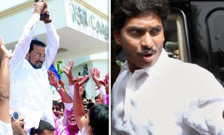 jagan s ysr congress sweeps ap assembly by polls