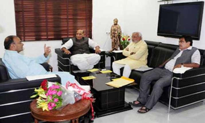 jaitley rajnath gadkari likely in modi cabinet