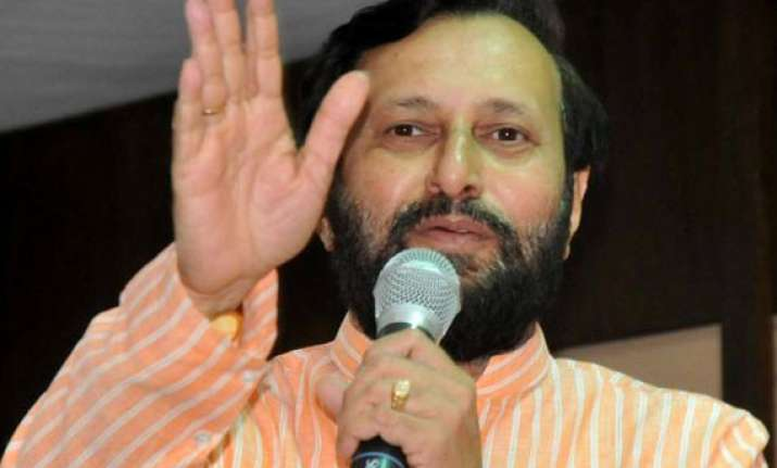 javadekar promises fast clearances to infrastructure