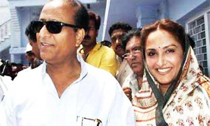 jaya prada to contest against azam khan says amar singh