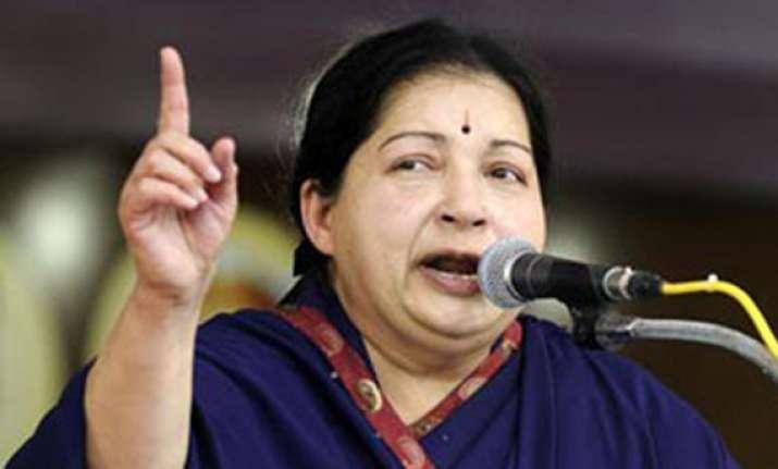 jayalalithaa attacks karunanidhi over food security bill