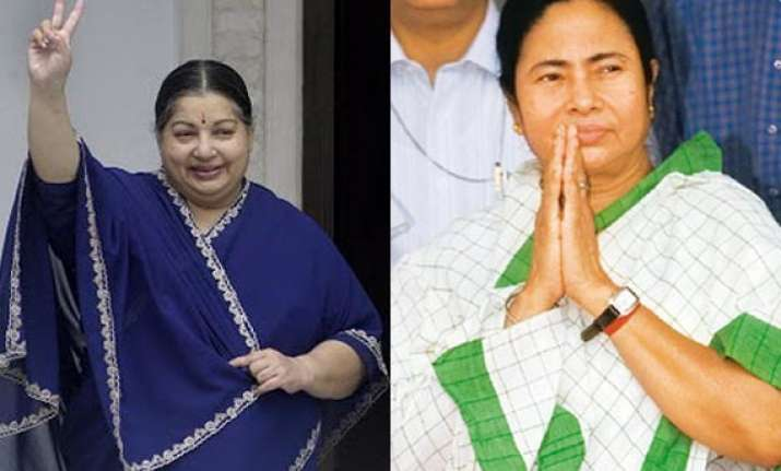 jayalalithaa calls up mamata thanks her