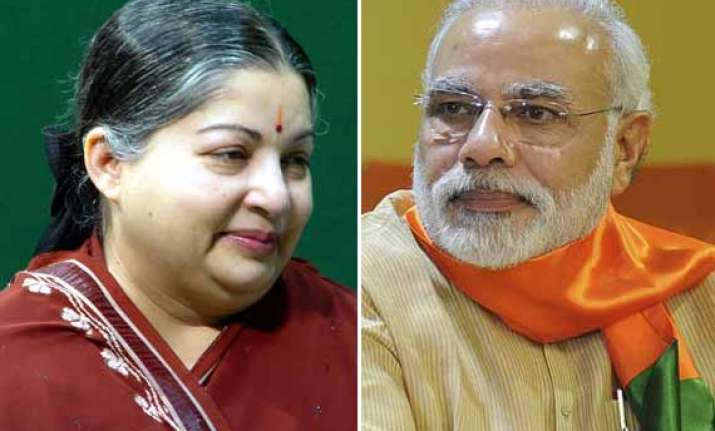 jayalalithaa led aiadmk to join modi government