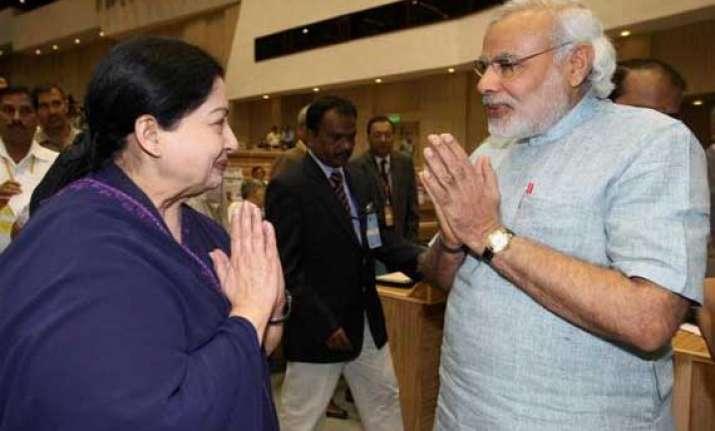 jayalalithaa not to attend narendra modi s swearing in