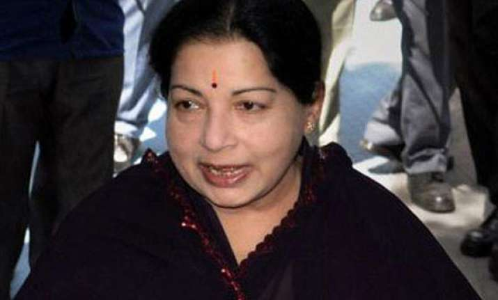 jayalalithaa seeks narendra modi s intervention to secure