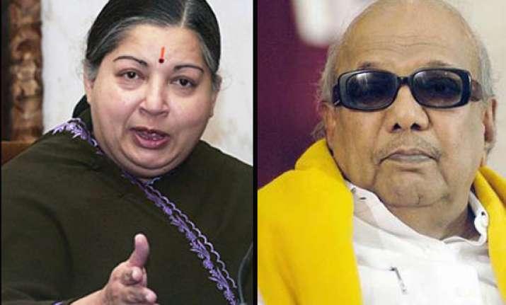 jayalalithaa counters karunanidhi s claim on dmk hq issue