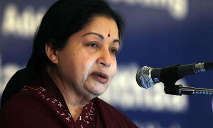 jayalalithaa s water power woes continue in 2012