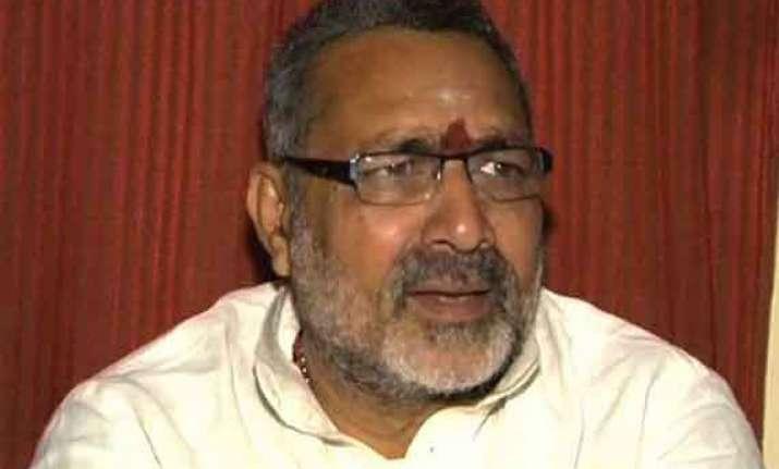 jharkhand police raid giriraj s house bjp leader missing