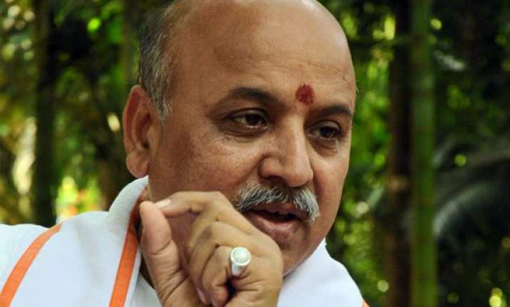 joshi s exit loss to bjp claims praveen togadia