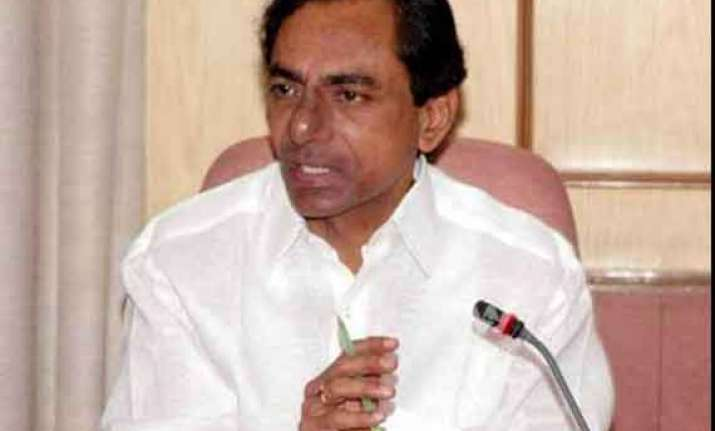 kcr meets pm seeks special status for telangana