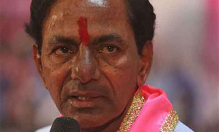 kcr vows to make telangana a model state root out corruption
