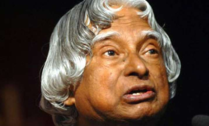 a p j abdul kalam refuses to contest presidential poll