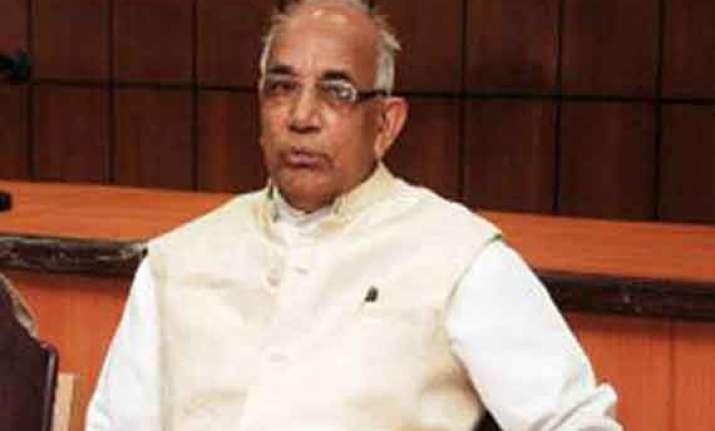 kaptan singh solanki appointed as new haryana governor