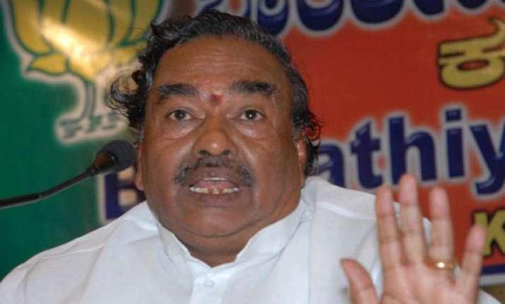 karnataka bjp chief under scanner over corruption