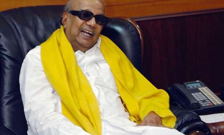 karuna says dmk maintained consistent stand on tamils issue