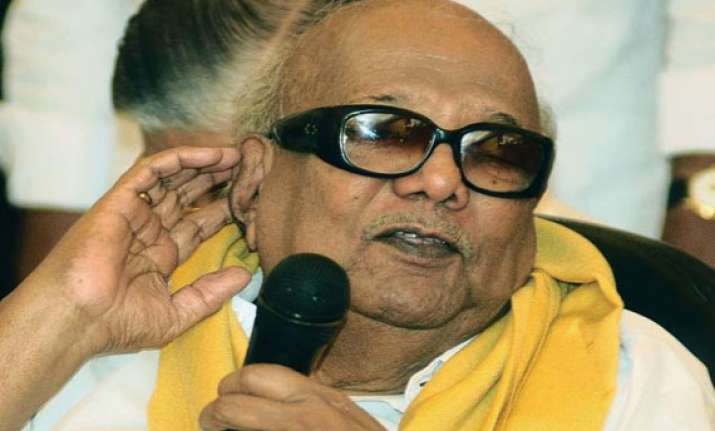 karunanidhi challenges summons issued to him by judicial