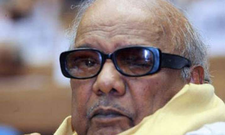 karunanidhi defends dmk s decision to join hands with bjp