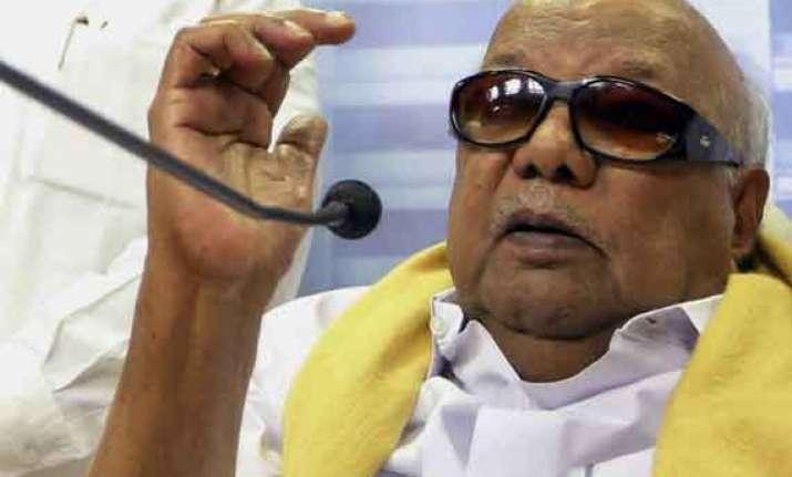 karunanidhi s pep talk to cadres aiadmk too has lost polls