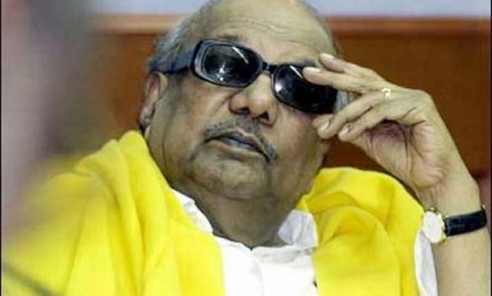 karunanidhi says dmk not a party but a symbol of tamil race