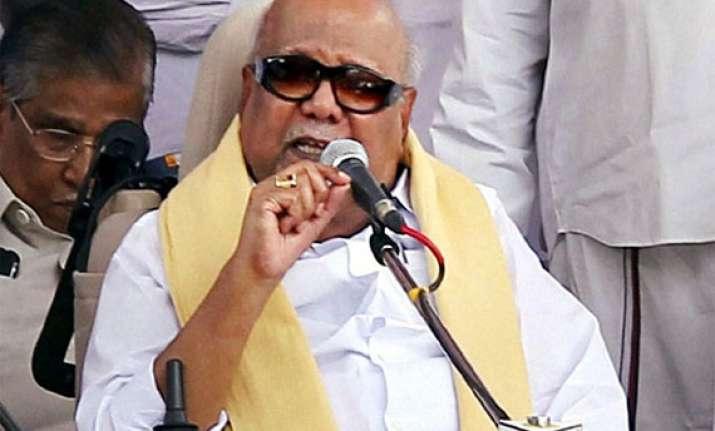 karunanidhi questions jayalalithaa s action at ndc meet