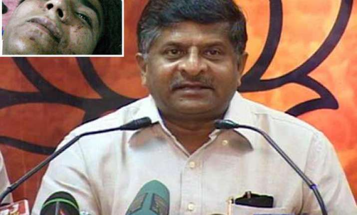 kasab hanging better late than never says bjp