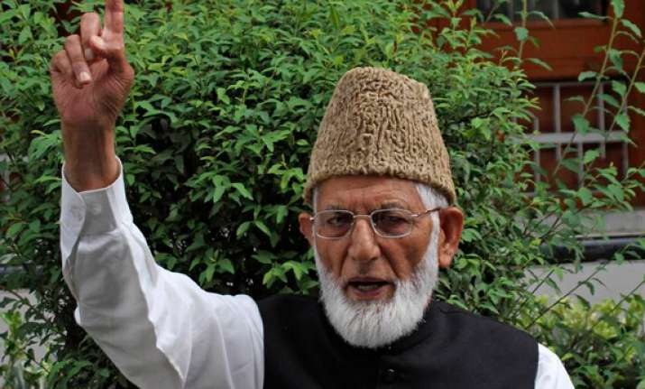 kashmiri youths thinking of other options says geelani