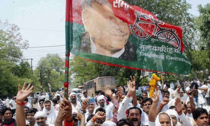keen contest on cards as bjp bsp take on sp for historic