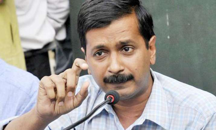 kejriwal alleges his flat s power connection cut