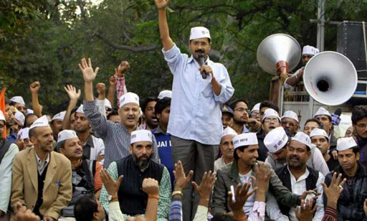 kejriwal commences road show in chandigarh