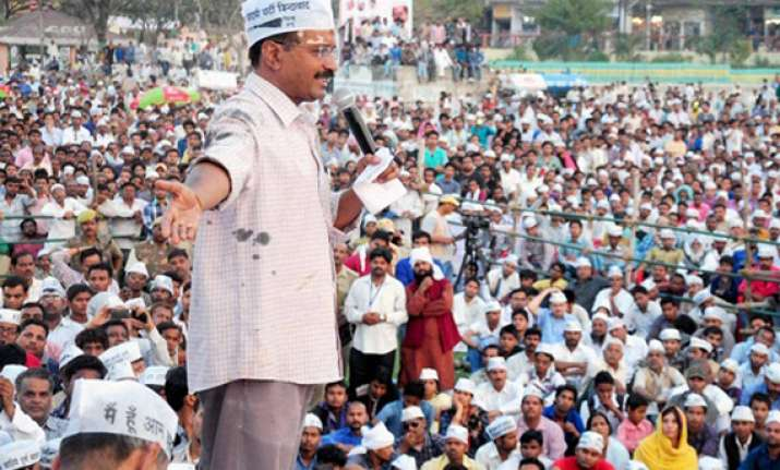 kejriwal heads to punjab for poll campaigning