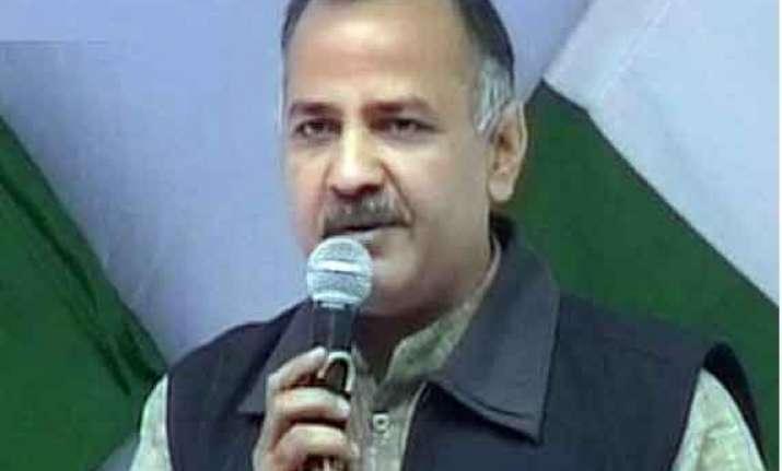 kejriwal s resignation dented party s chances manish sisodia