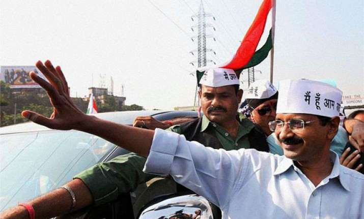 kejriwal says protests expected police tighten security