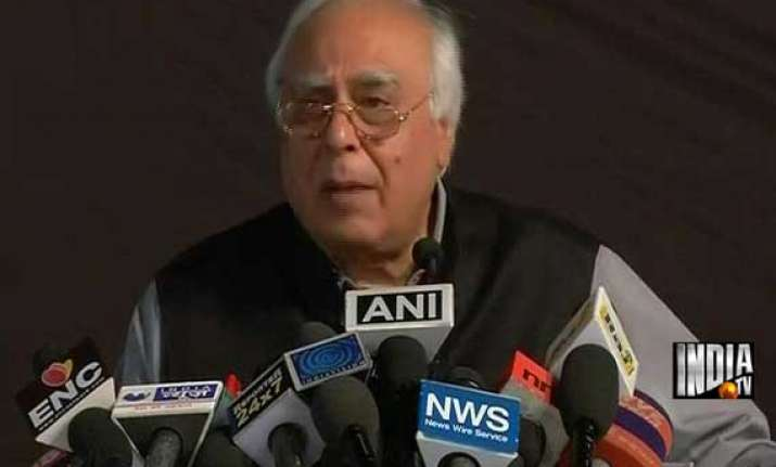 kejriwal should prove his allegations or quit sibal