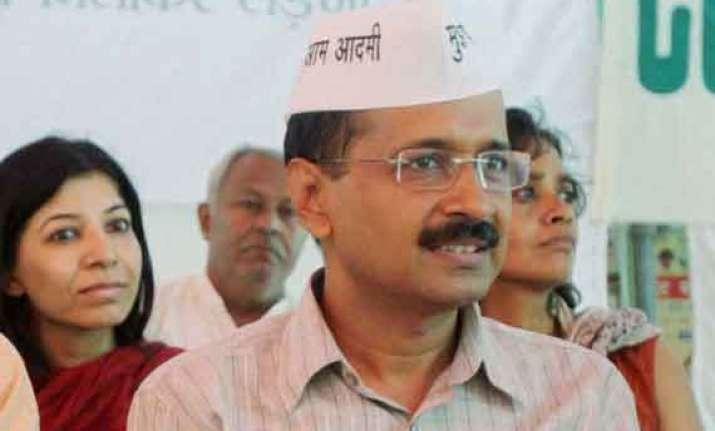 kejriwal slams congress bjp