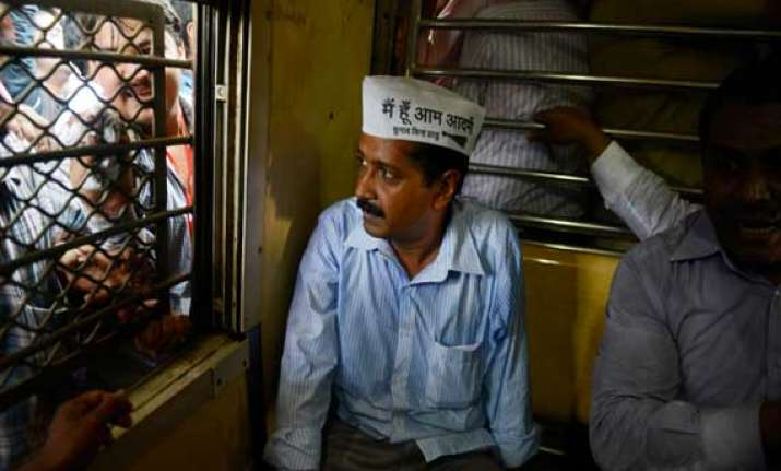 kejriwal hits campaign trail in varanasi amid fears of