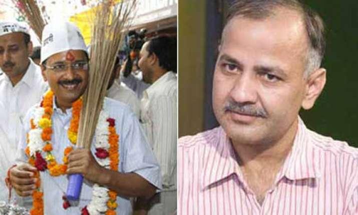 kejriwal will take on modi in varanasi manish sisodia